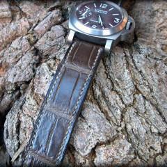 panerai 118 sur bracelet montre alligator canotage modèle vanuatu
