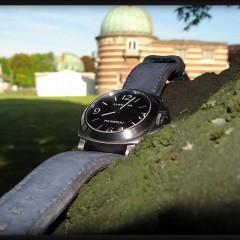 panerai 176 sur bracelet montre cuir canotage modèle kalliste