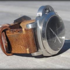 panerai 312sur bracelet montre cuir ammo