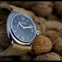 panerai 337 sur bracelet montre cuir canotage modèle kalliste