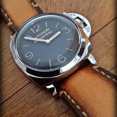 panerai 372 sur bracelet montre cuir canotage modèle ischia