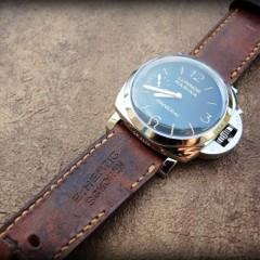 panerai 422 sur bracelet montre cuir ammo