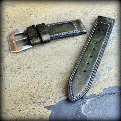 bracelet montre patiné aran