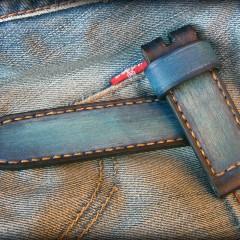bracelet montre cuir canotage modèle anaho