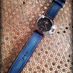 panerai 312 sur bracelet montre cuir canotage modèle anaho