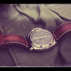 panerai 312 sur bracelet montre cuir canotage modèle orcade
