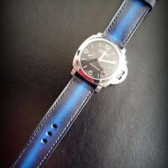 panerai 328 sur bracelet montre cuir canotage modèle lofoten