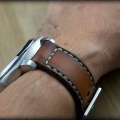 panerai sur bracelet montre cuir canotage modèle orcade