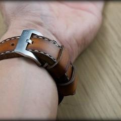 bracelet montre cuir canotage modèle orcade