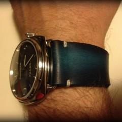 panerai radiomir sur bracelet montre cuir canotage modèle lofoten