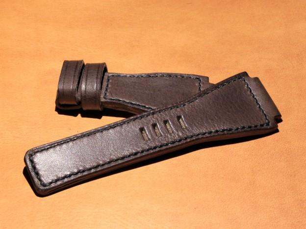 bracelet montre cuir pour montre bell & ross