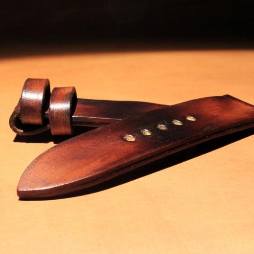 bracelet montre cuir canotage modèle valentia
