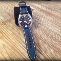 eterna kon tiki sur bracelet montre cuir canotage modèle lofoten