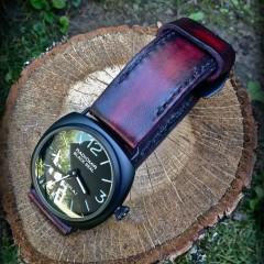 panerai 292 sur bracelet montre cuir canotage modèle lanzarote