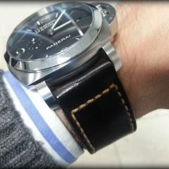 panerai 312 sur bracelet montre cuir canotage modèle achill