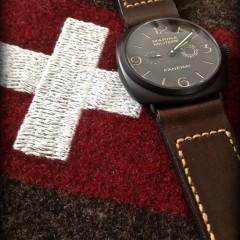 panerai 339 sur bracelet montre cuir canotage
