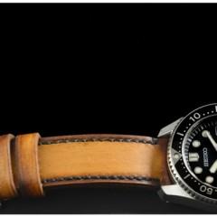 seiko marine master sur bracelet montre cuir canotage modèle jersey