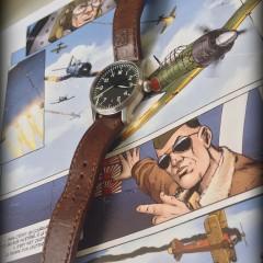 stowa flieger sur bracelet montre cuir ammo