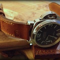 panerai 001 sur bracelet montre cuir ammo