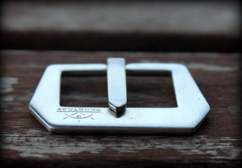 boucle canotage brossée plate