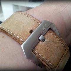 bracelet montre cuir canotage modèle kalliste