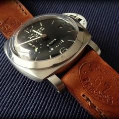 panerai 233 sur bracelet montre cuir ammo