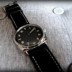 panerai 448 sur bracelet montre cuir canotage modèle dalkey