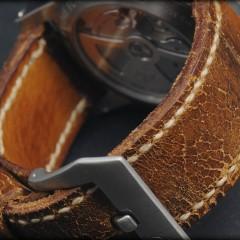 bracelet montre cuir ammo