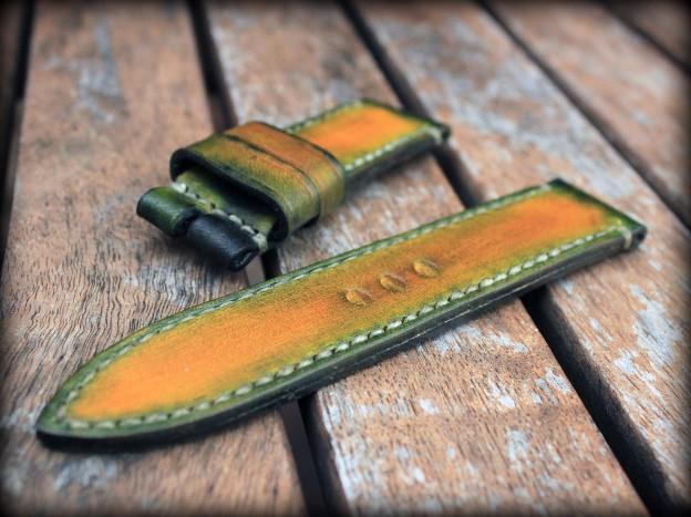 bracelet montre cuir canotage modele aran