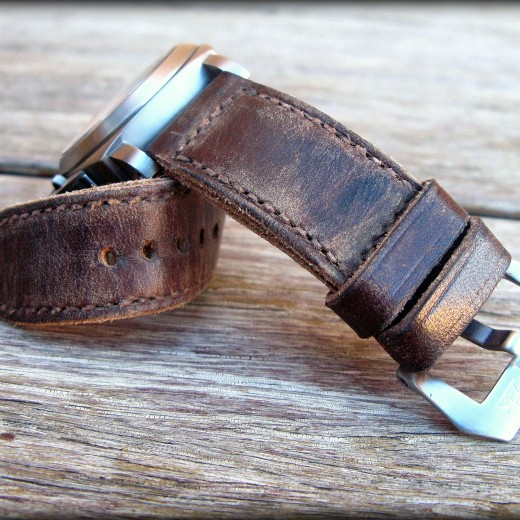 bracelet montre cuir canotage modele key largo