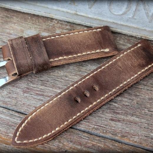 bracelet montre cuir canotage modele key west
