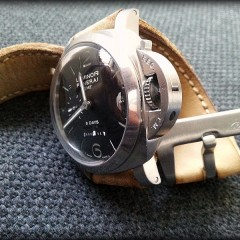 panerai 233 sur bracelet montre cuir canotage modele kalliste