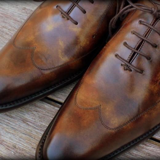 souliers patine thuya finsbury