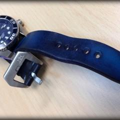 seiko blumo sur bracelet montre cuir canotage modele lofoten