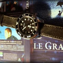 seiko sumo sur bracelet montre cuir canotage modele dalkey