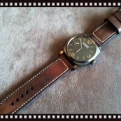panerai 532 sur bracelet montre cuir canotage modele soldier key