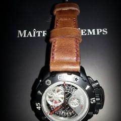 zenith defi xtreme sur bracelet montre cuir ammo
