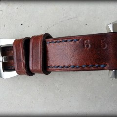 seiko blumo sur bracelet montre cuir ammo