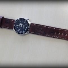 bell & ross hydromax sur bracelet montre cuir ammo