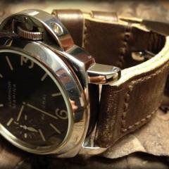 panerai 001 sur bracelet montre cuir canotage modele key largo