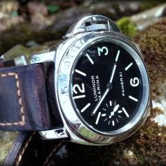 panerai 001 sur bracelet montre cuir canotage modele soldier key
