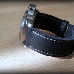 panerai 177 sur bracelet montre cuir canotage modele dalkey