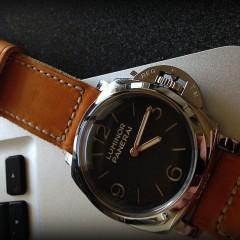 panerai 372 sur bracelet montre cuir canotage modele malban