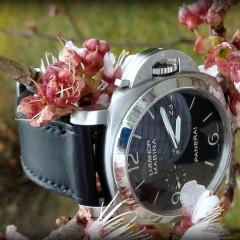 panerai 328 sur bracelet montre cuir canotage modele dalkey