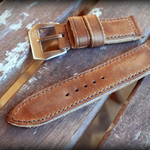 bracelet montre cuir canotage modele key haven