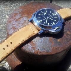 panerai sur bracelet montre cuir canotage modele kalliste