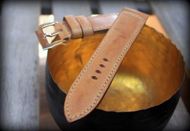 bracelet montre cuir ammo canotage