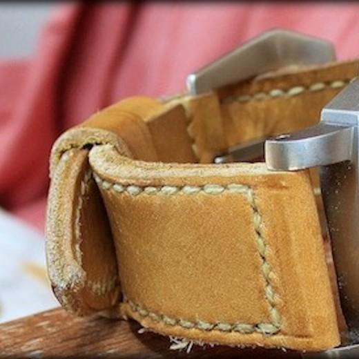 panerai 118 sur bracelet montre cuir canotage modele cudjoe key