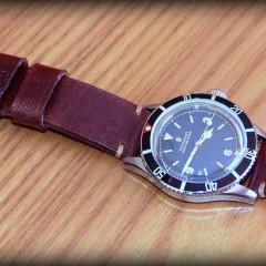 Steinhart ocean one vintage sur bracelet montre cuir ammo