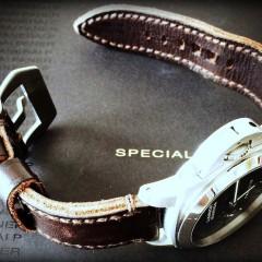 panerai sur bracelet montre cuir canotage modele key largo